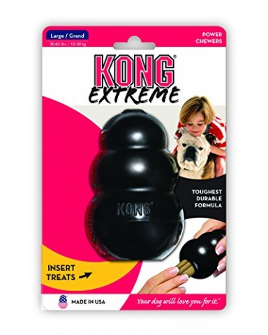 Kong Extreme Dog Toy Large Black All The Best Dog Stuff